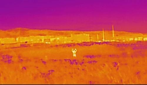 câmera termal flir vue infravermelho visão noturna