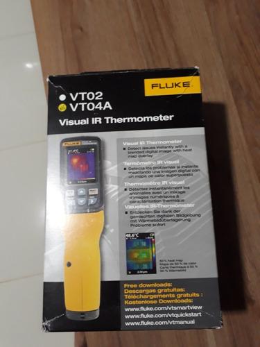 câmera termografica fluke vt04a
