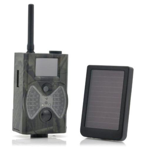 câmera trilha solar full-hd 1080p 12mp v. not gsm mms email