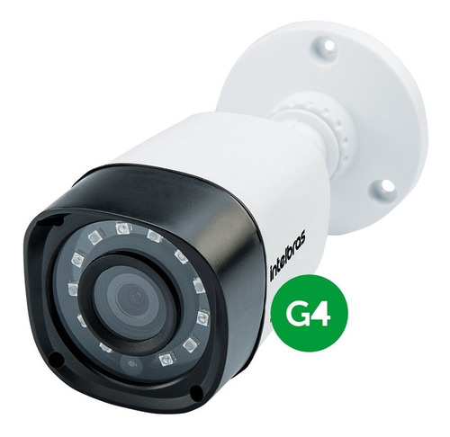 câmera vhd 1010 b intelbras bullet hdcvi 720p hd 3,6 mm 10mt