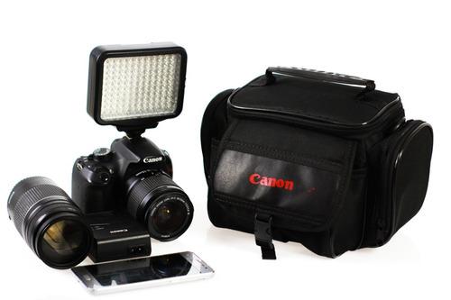 câmeras acessórios bolsa para