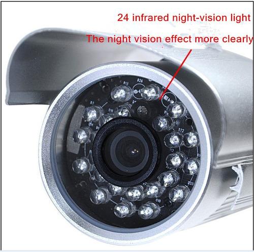 câmeras de segurança com infra vermelho