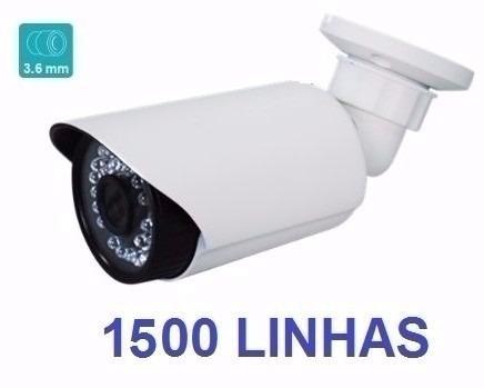 câmeras infravermelho 50mt 1500 linhas hd ir cut e blc