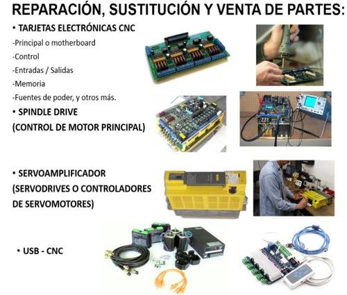 cnc carga parámetros dnc comunicación pc laptop fanuc marcas
