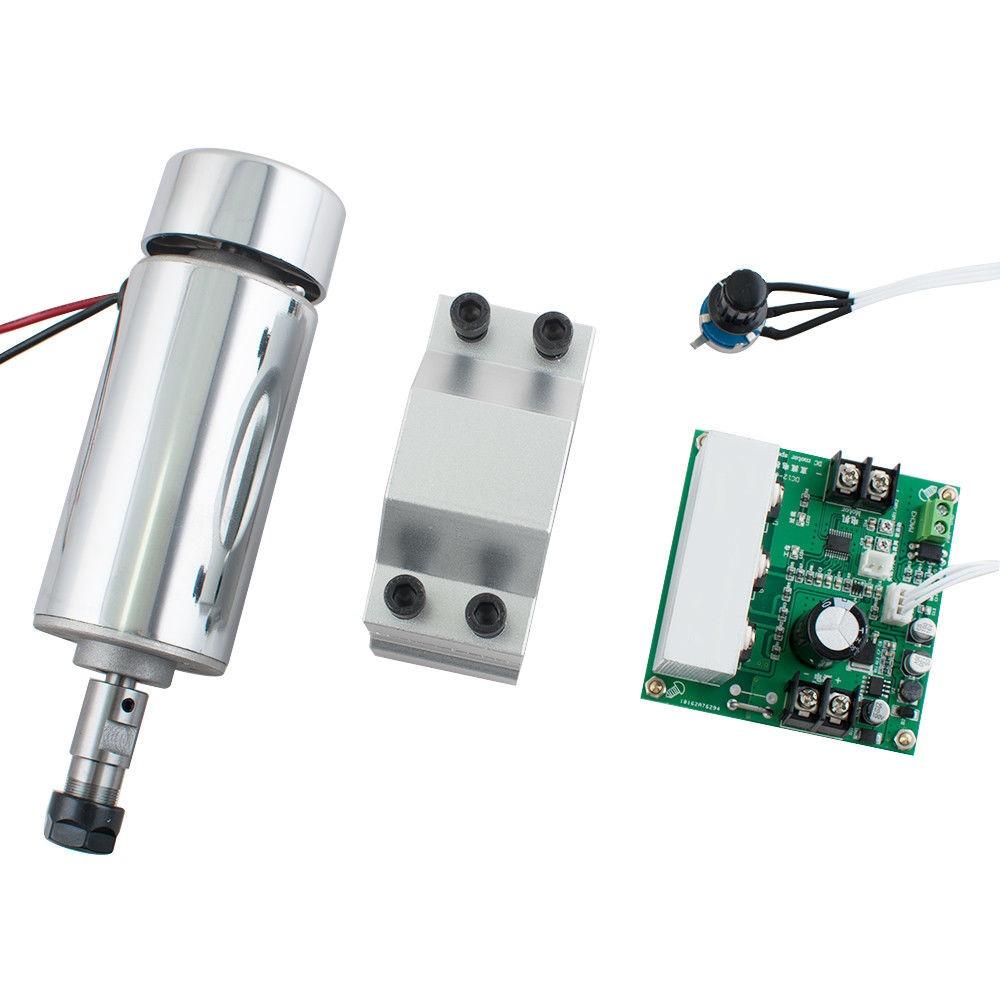 Mount Engraving Kits CNC Spindle Motor 400W ER11 /& Mach3 PWM Speed Controller
