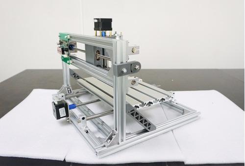 cnc grabadora cortadora router 30x18 + laser 500mw c/iva