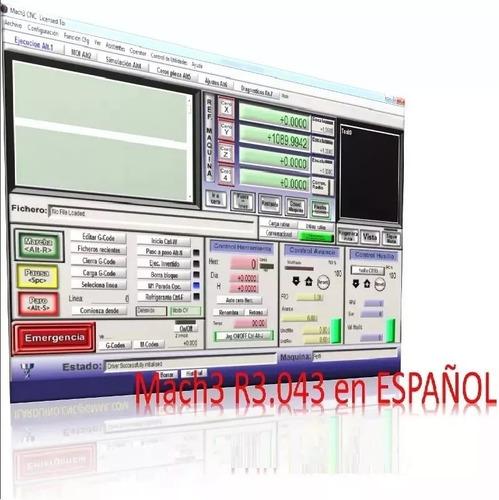 cnc mach3 + lazycam + plugins (español) router simulador
