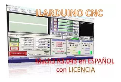 cnc mach3 r3.043 en español con licencia full