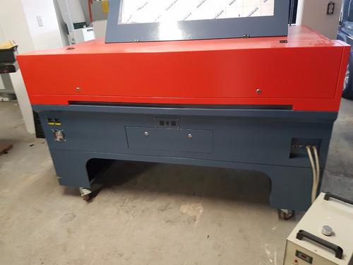 cnc maquina laser corte cortadora grabador router +enfriador