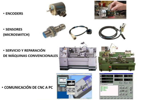 cnc reparación router servomotor drive servocontrol spindle