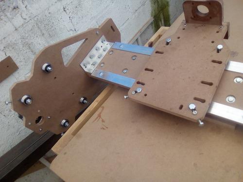 cnc robusta easy v1, 80x122  (planos para construir)