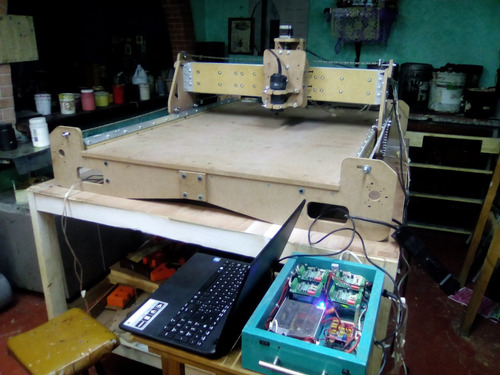 cnc robusta easy v2, 122x244 (planos para construir. )