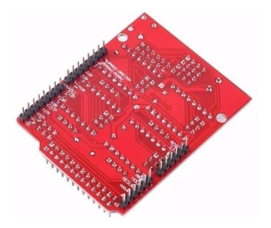Cnc Shield V3 +jumpers De Brinde Grbl Arduino Cnc 3d Printer
