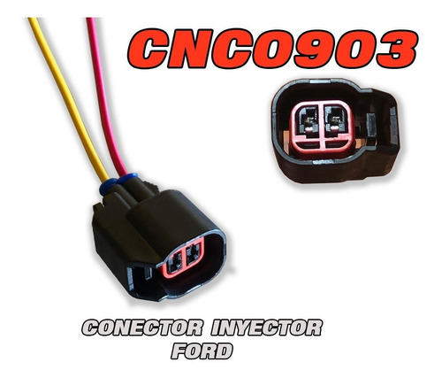 cnc0903 conector inyector ford triton cherokee explorer f150