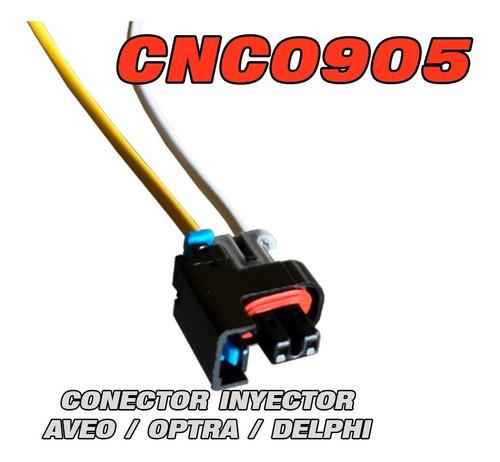 cnc0905 conector inyector aveo optra