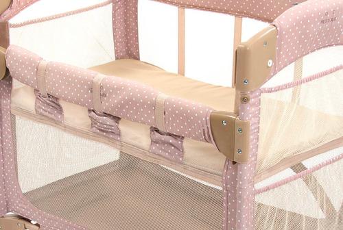 co-sleeper mini berço acoplado lateral cama moisés bebê arms