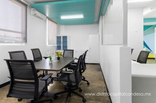 co-working amueblado en renta sobre periférico norte