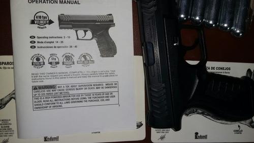 co2 pistolas de aire nuevas y 50 bbs metal