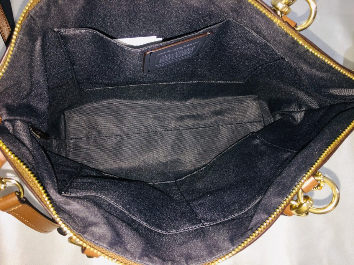 c675265df0a5 coach bolso kelsey monograma khaki f28989. Cargando zoom.