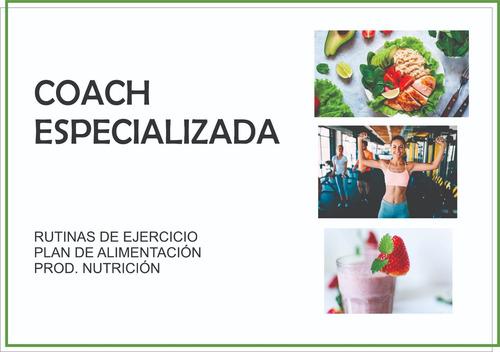 coach especializada nutricion bienestar ejercicios