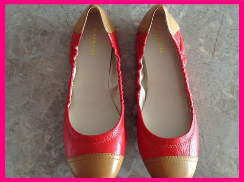 coach flats zapatos