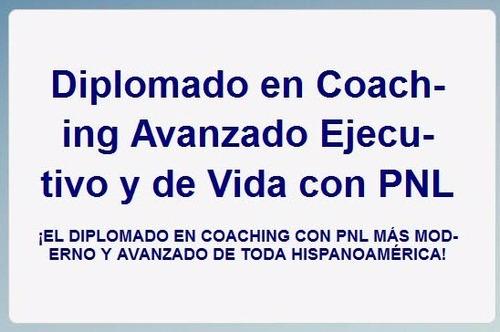 coaching ejecutivo y de vida con pnl. envío por email