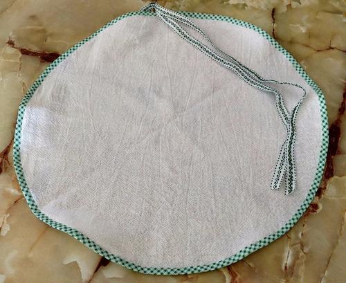 coador 100% algodão p/ coalhada seca e queijo caseiro grande