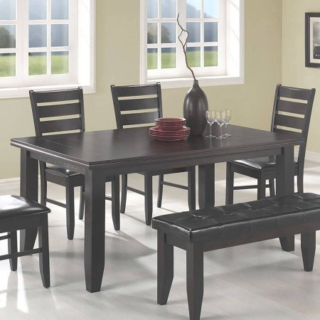 coaster conjunto mesa de comedor de empresa dalila comedor