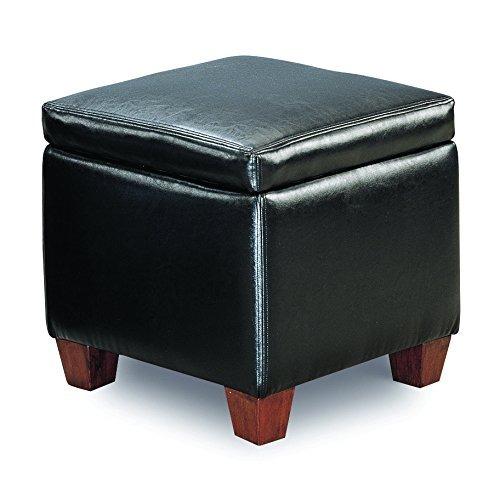 Coaster Muebles Para El Hogar 500902 Casual Otomano, Negro ...