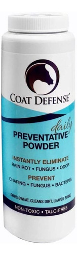 coat defense - polvo preventor diario para caballos. li