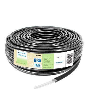 coaxial :: cable coaxial rg-6 100m superior imp