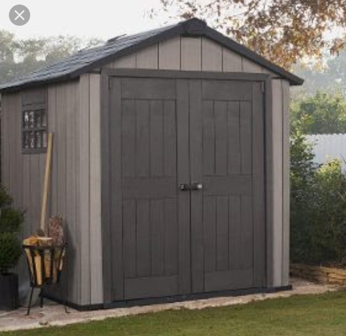 Cobertizo casa para guardar herramientas caseta 19 425 for Caseta para guardar bicis