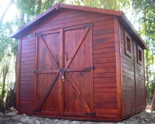 Cobertizo de madera pasos para construir un cobertizo de - Construir cobertizo madera ...