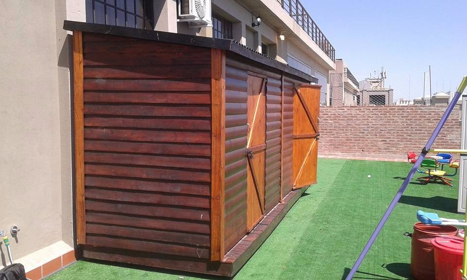 Cobertizo En Madera A Medida 5 X 150 Ideal Para Jardines 48900 - Cobertizo-para-jardin