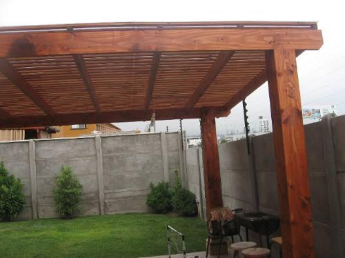 Cobertizos de madera pergolas oregon treillages for Cobertizos madera economicos