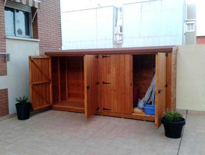Cobertizos En Madera De Calidad Para Jardines Linea Eco 17500 - Cobertizo-para-jardin