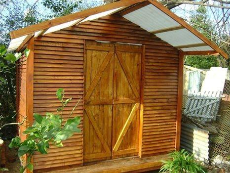Cobertizo para jardin con un cobertizo para exterior for Cobertizos para jardin