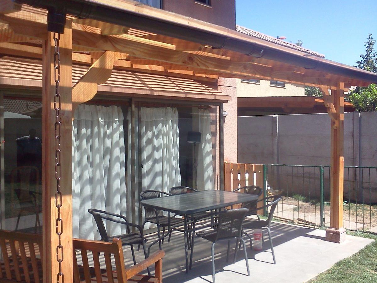 Cobertizos pergolas terrazas en madera en for Cobertizo de madera ideas de disenos