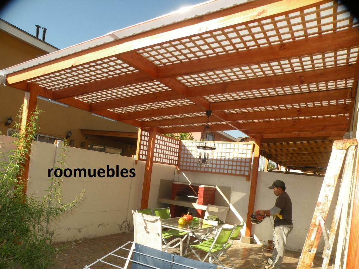 Cobertizos y terrazas en mercado libre for Casas con cobertizos