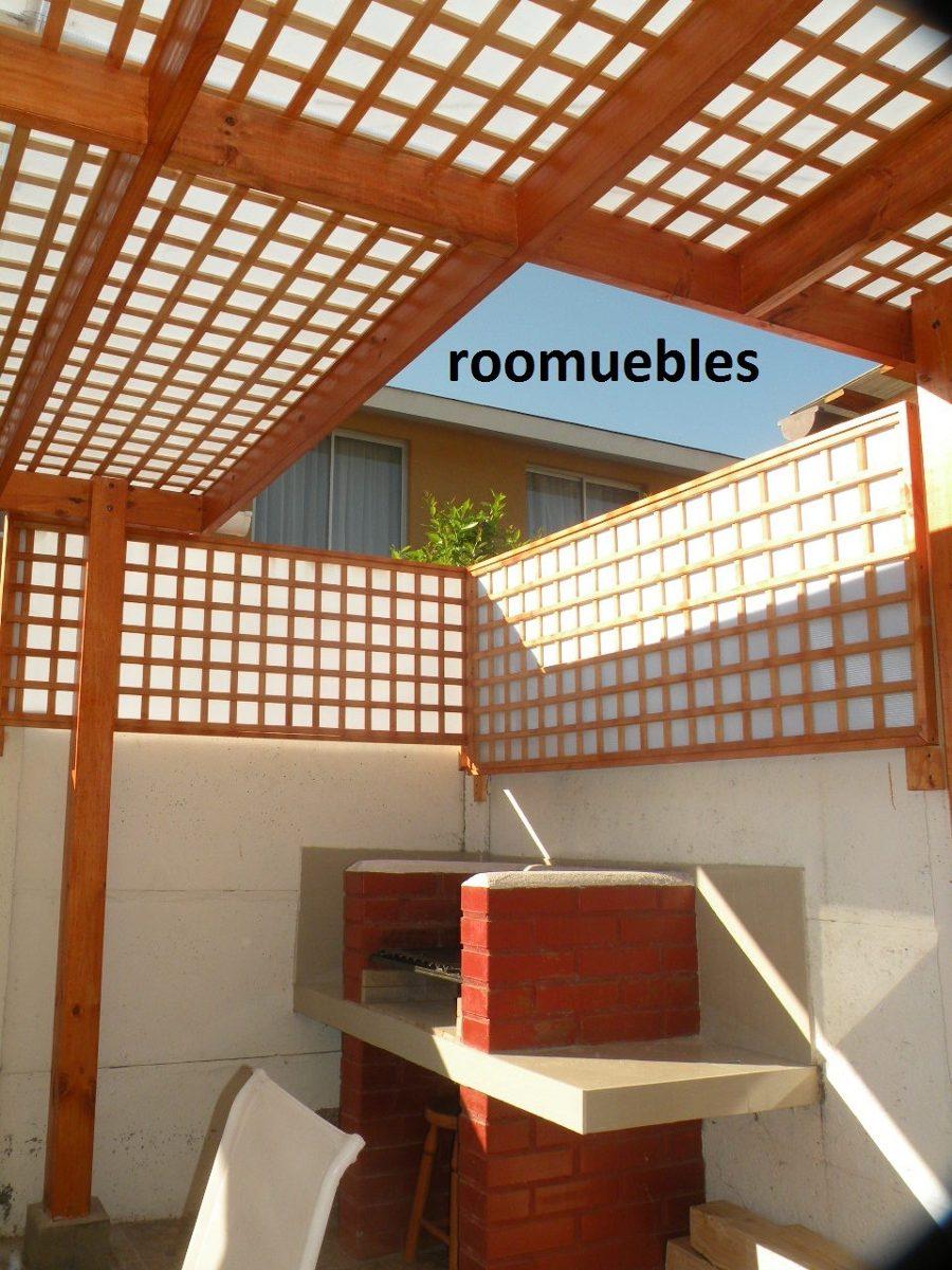 Cobertizos y terrazas en mercado libre for Cobertizo de madera tratada