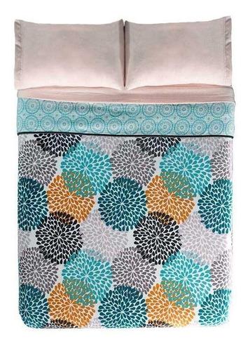 cobertor 2 vistas nordico banff ks / qs vianney envio gratis