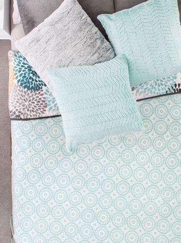 cobertor 2 vistas nordico banff qs / ks vianney envio gratis