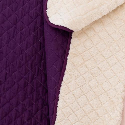 cobertor austral morado mat / ind  vianney envio gratis
