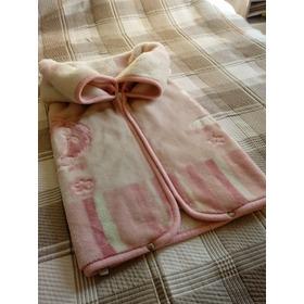 Cobertor Bebê Menina Zíper