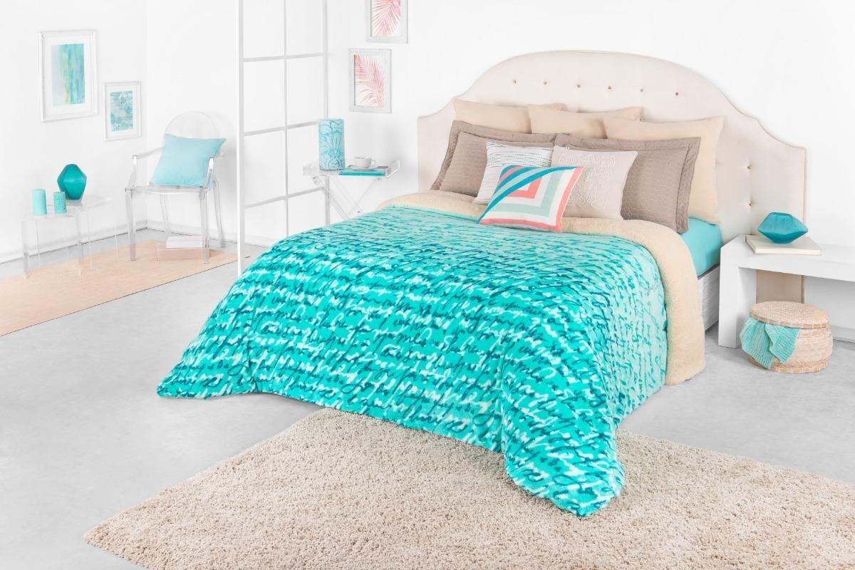 Cobertor Borrega Riviera Matrimonial Real Textil