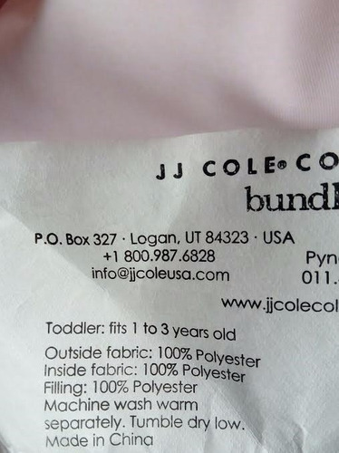cobertor bundle me jj cole original toddler (1 a 3 años)