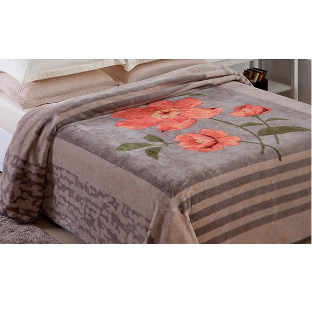 77464bcd02 cobertor casal king jolitex raschel 220x240. Carregando zoom.