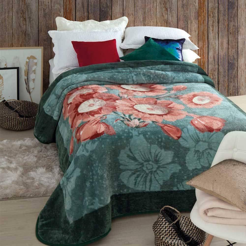 dc64011ae Cobertor Casal Trento Kyor Plus Jollitex 1,80x2,20m - R$ 119,90 em Mercado  Livre
