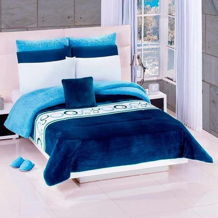 Cobertor Con Borrega 0e8e4129c4557
