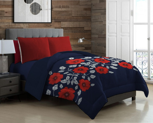 cobertor con borrega matrimonial capitonado, modelo a elegir